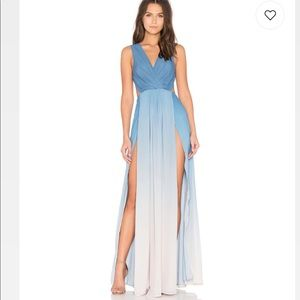 The Jetset Diaries Ombré Blue Maxi - Small